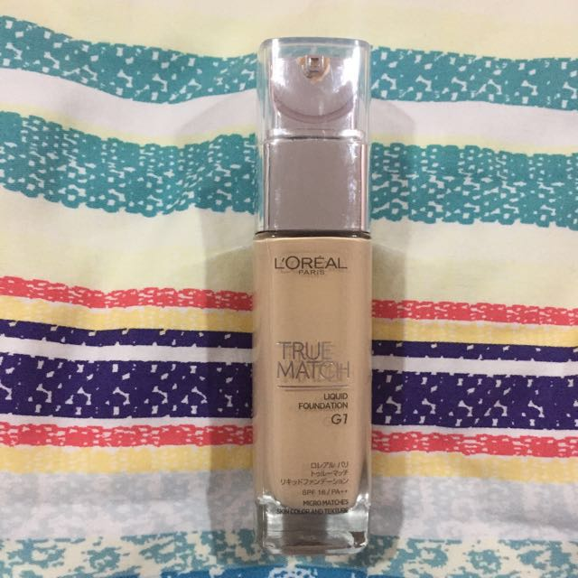 L'Oréal True Match Foundation In Gold Ivory