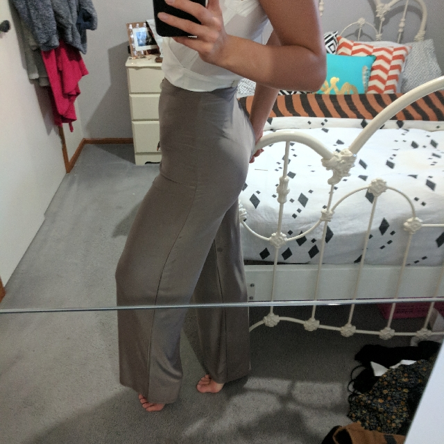 Meshki Wide Leg Dress Pants