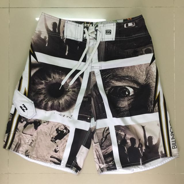 1b0b213359 Metallica Billabong Limited Edition Board Short size 30, Men's Fashion,  Clothes on Carousell