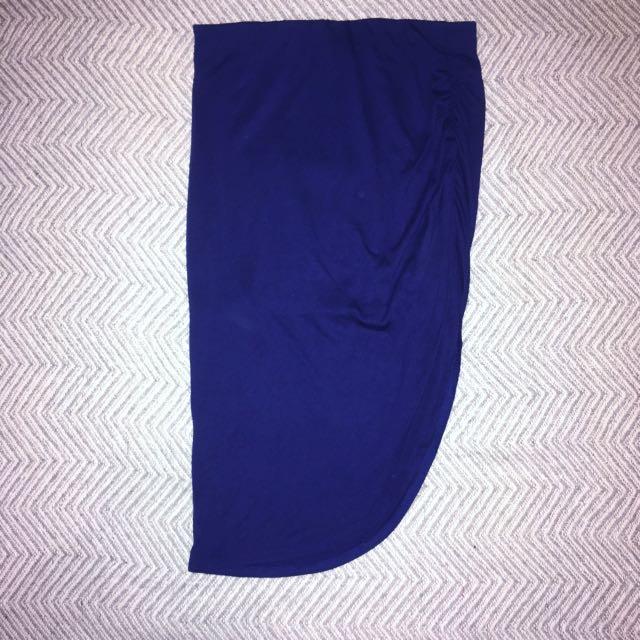 MIDI split skirt size 8