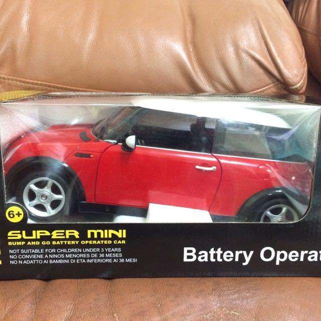 降✨Mini cooper造型模型汽車