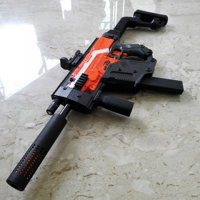 Nerf Stryfe With Kriss Vector Kit, Toys & Games, Bricks & Figurines on  Carousell