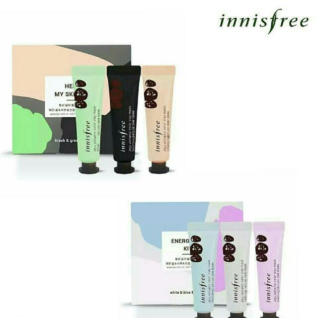 NEW! INNISFREE JEJU VOLCANIC COLOR CLAY MASK
