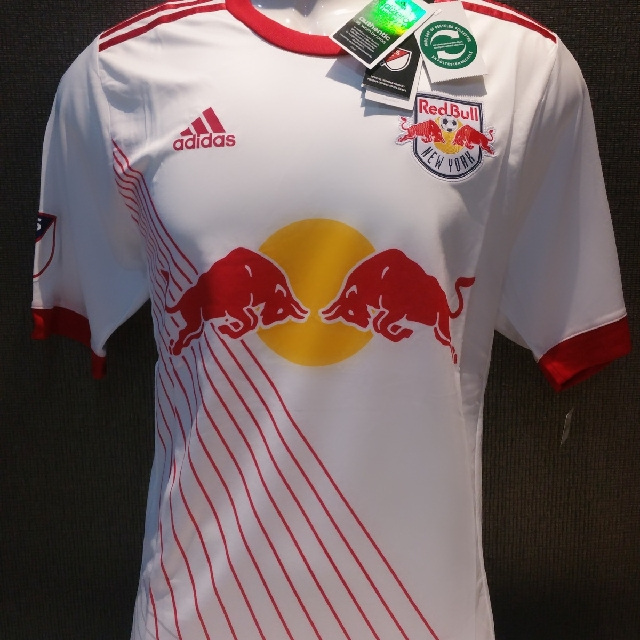 detailed look b6401 2f36b Jersey 2017-2018 Player Issue New York Red Bull