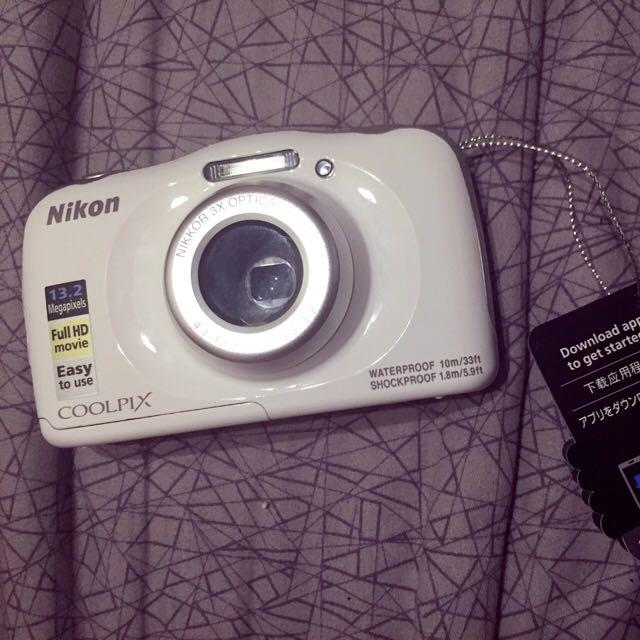 Nikon Coolpix W100 防水相機