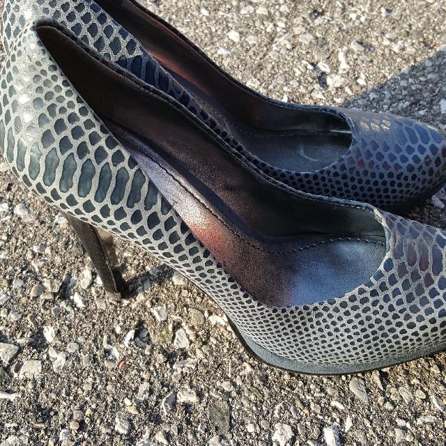 Nine West Blue Heels