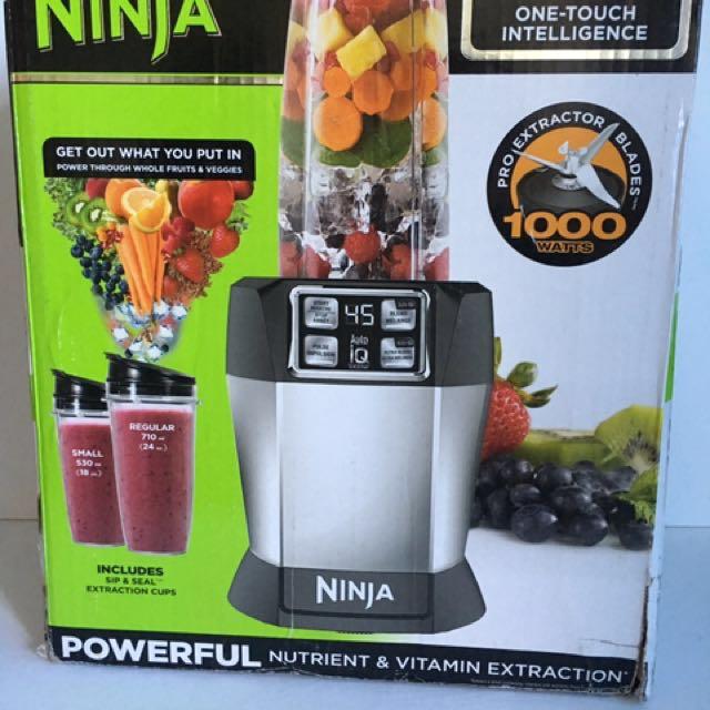 Nutri Ninja Auto-IQ Blender NEW