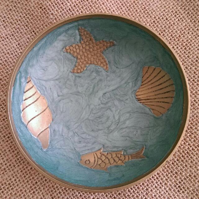 Oceanic Bronze Small Bowl