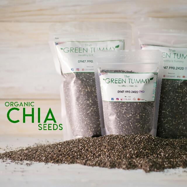 Organic Chia Seeds 350g