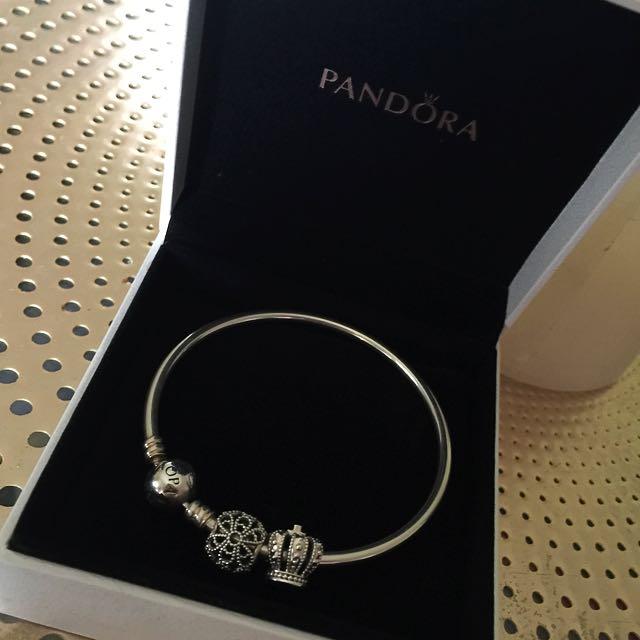Pandora Bangle Silver