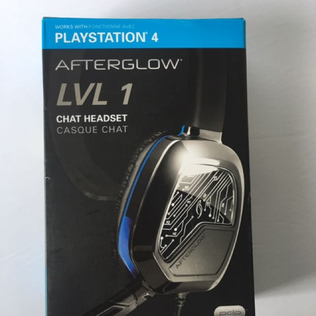 PDP PlayStation 4 LVL 1 Chat Headset