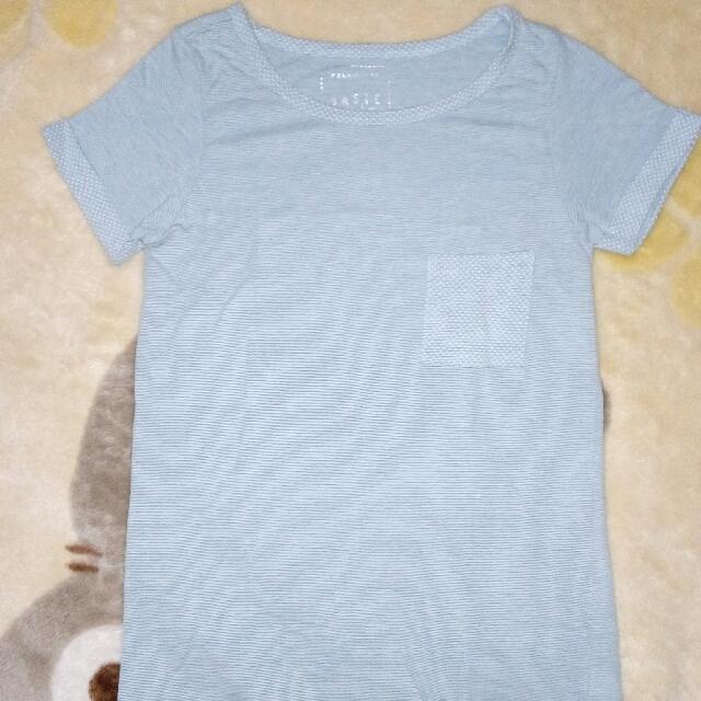 penshoppe polka sleeve shirt