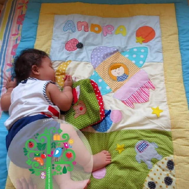 Personalised baby/toddler blanket