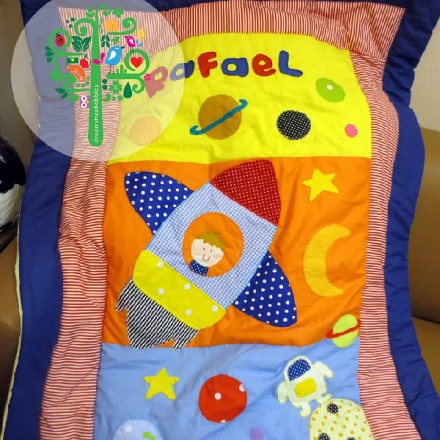 Personised baby/toddler blanket