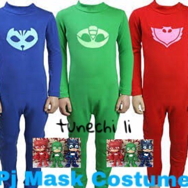 Pj Mask Set Catboy, Owlet And Gecko