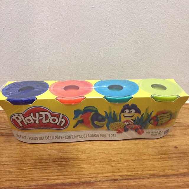 Play-doh 4 tubs
