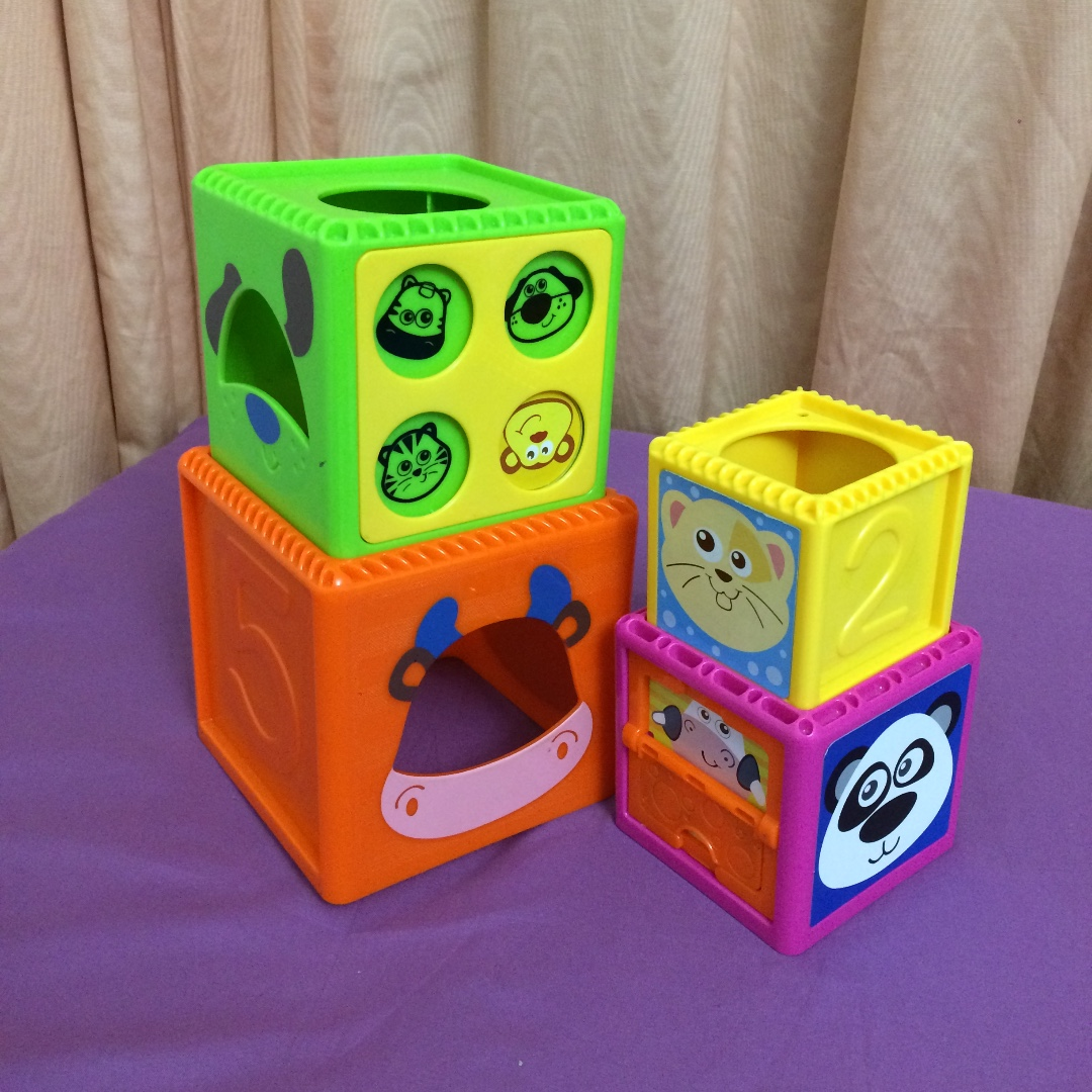 Preloved stacking toys