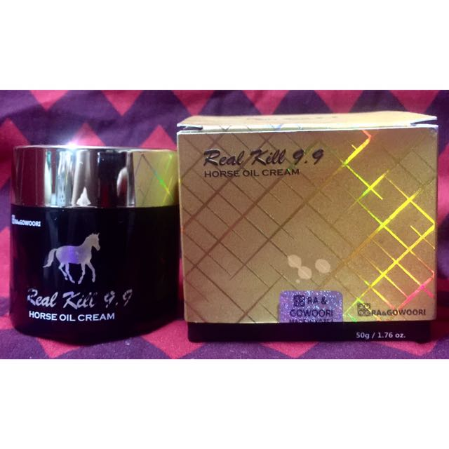 RA & Gowoori Real Kill 9.9 Horse Oil Cream (Black)