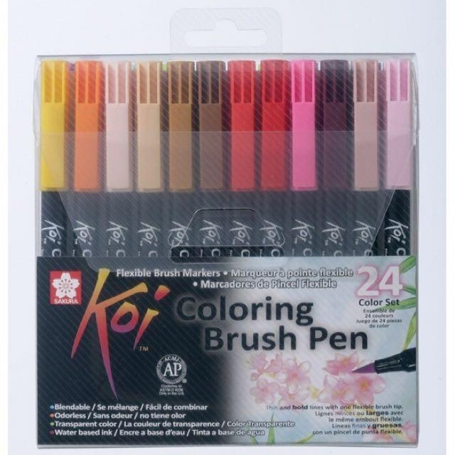 Sakura Koi Brush Pen - 24 Colors