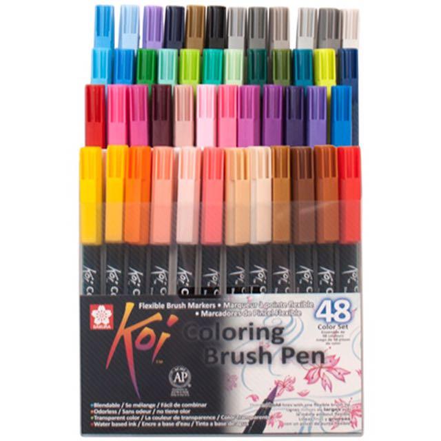Sakura Koi Coloring Brush Pen - 48 Colors