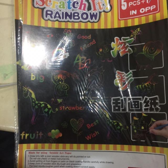 Scratchpad rainbow
