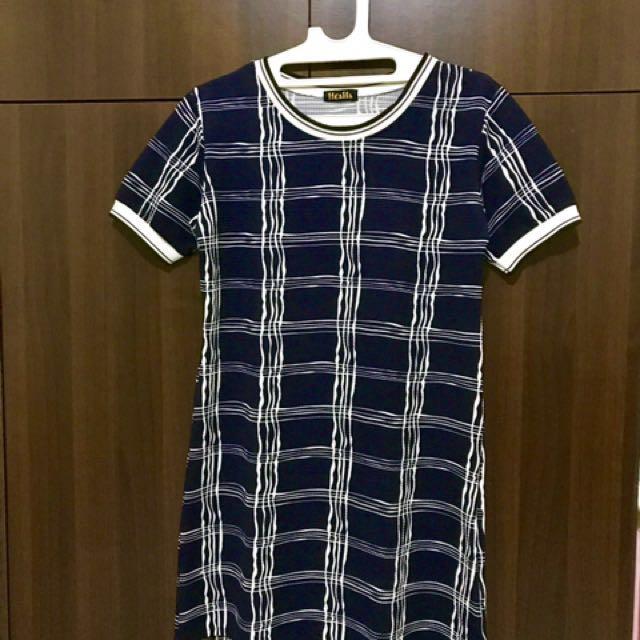 Square Mini Dress