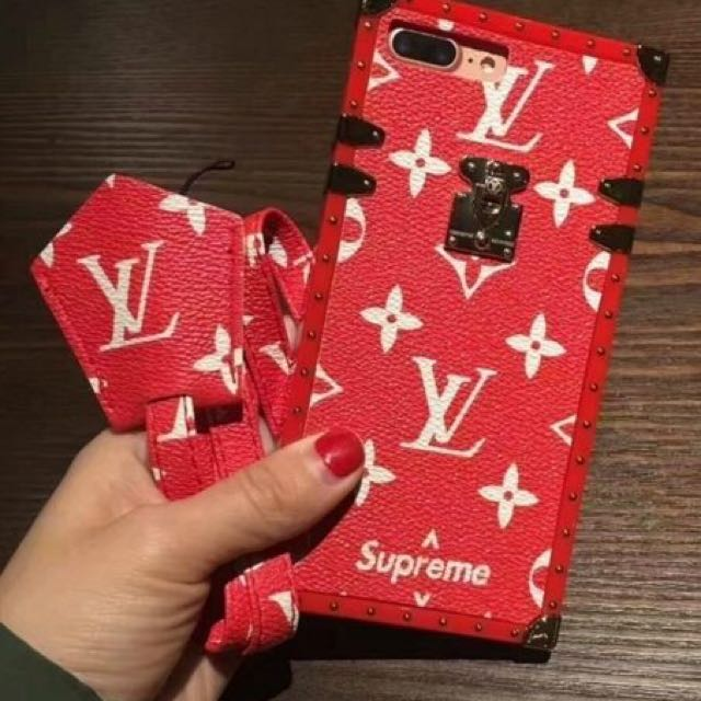 Supreme x LV iPhone Case