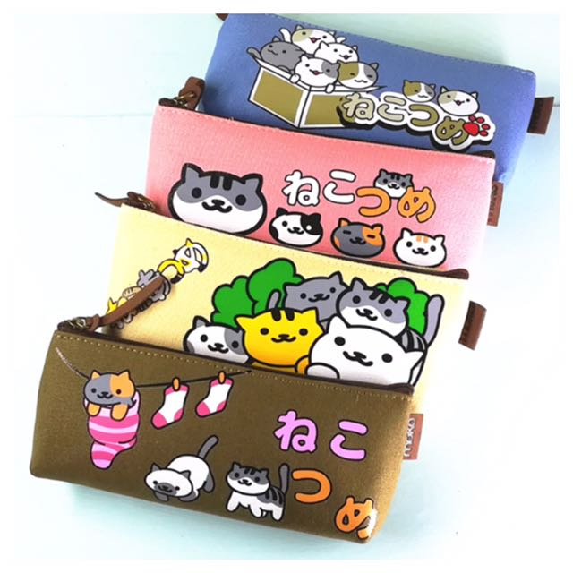 Tempat Pensil Kucing Jepang