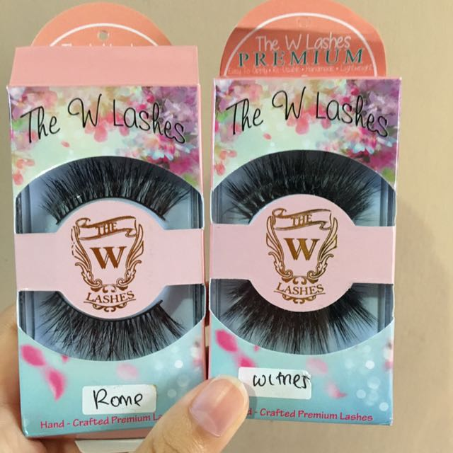 the w lashes false lashes