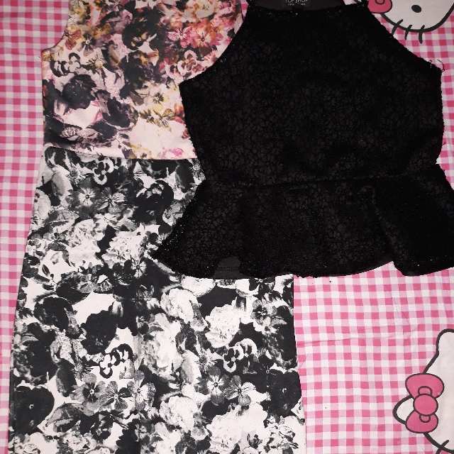 Topshop dress and top bundle