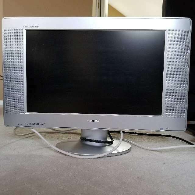 "Toshiba 21"" 1080 LCD 3 in 1 TV"