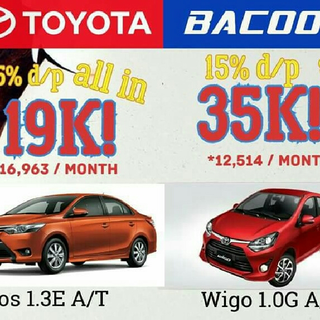 toyota bacoor all in promo low low down payment we accept trade in of your old car cars. Black Bedroom Furniture Sets. Home Design Ideas