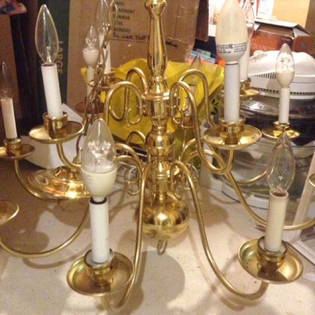 Up light chandelier
