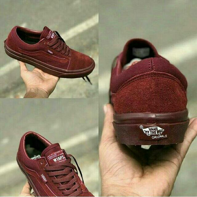Vans Old Skool Full Maroon 105d32666