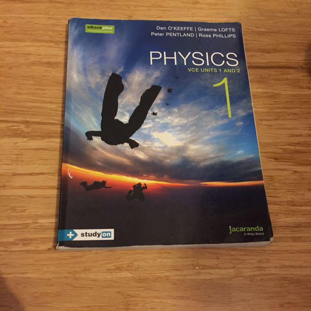 VCE Unit 1/2 Physics