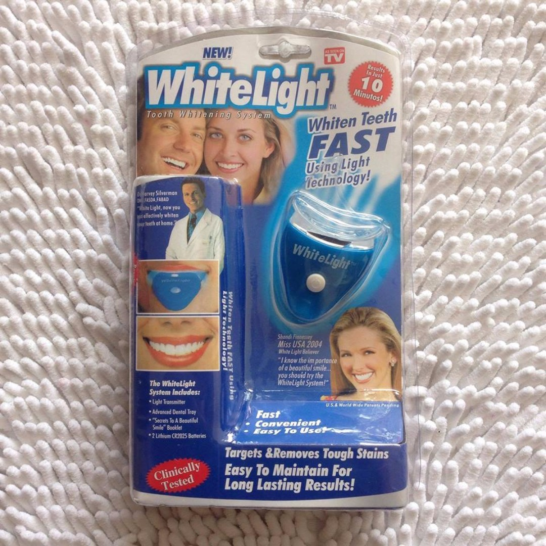 White Light Whiten Teeth
