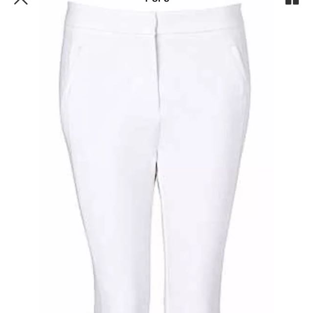 Witchery White Pants Size 8