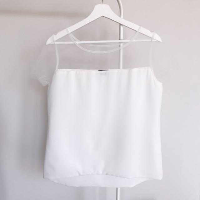 (Worn) Cloth Inc Mesh Top