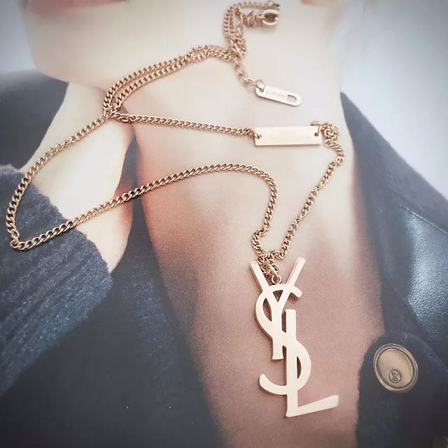 b015320991 YSL NECKLACE, Luxury, Accessories on Carousell