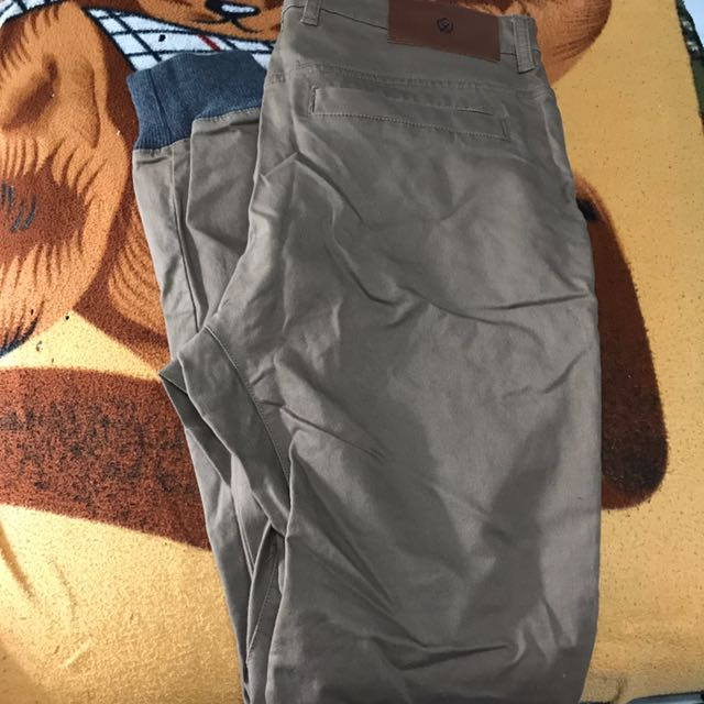 Zanerobe Jogger Pants dark brown