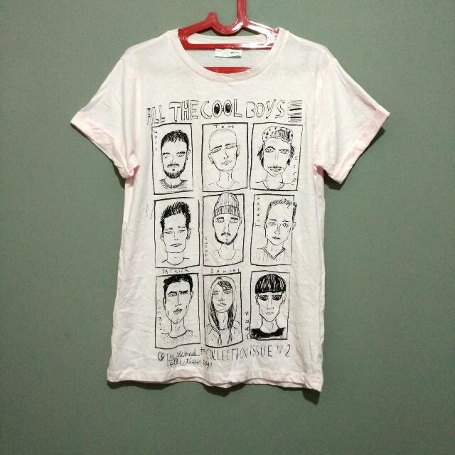 ZARA T-shirt soft Pink / Cool T-shirt / T-shirt SALE