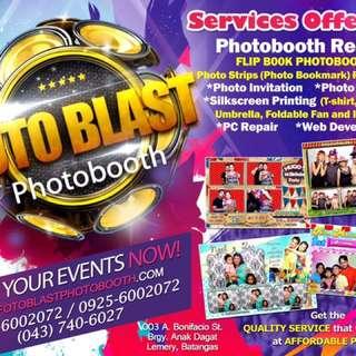 Photobooth Rental (Bagtag, Bookmark, 4r and Flipbooks)