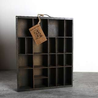 Zakka Wooden Partition Tray / Party Crate