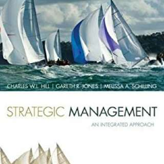 Strategic Management: Theory: An Integrated Approach 11Edition