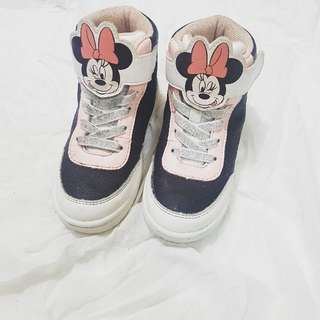 H&M Minnie Mouse Boots