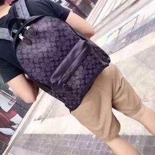Coach bagpack for men