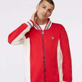 FILA Vintage Red Zip Up