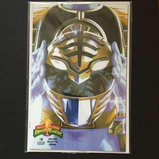 Power Rangers #0 White Ranger 1:100 Variant Cover