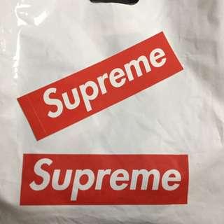 Authentic Supreme Sticker