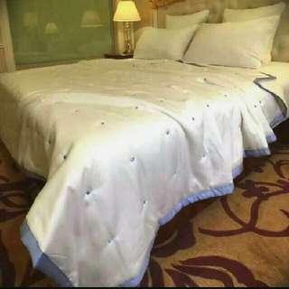 🚚 意外柔軟的美國天絲被 外國雙人尺寸 可當床罩 最後現貨